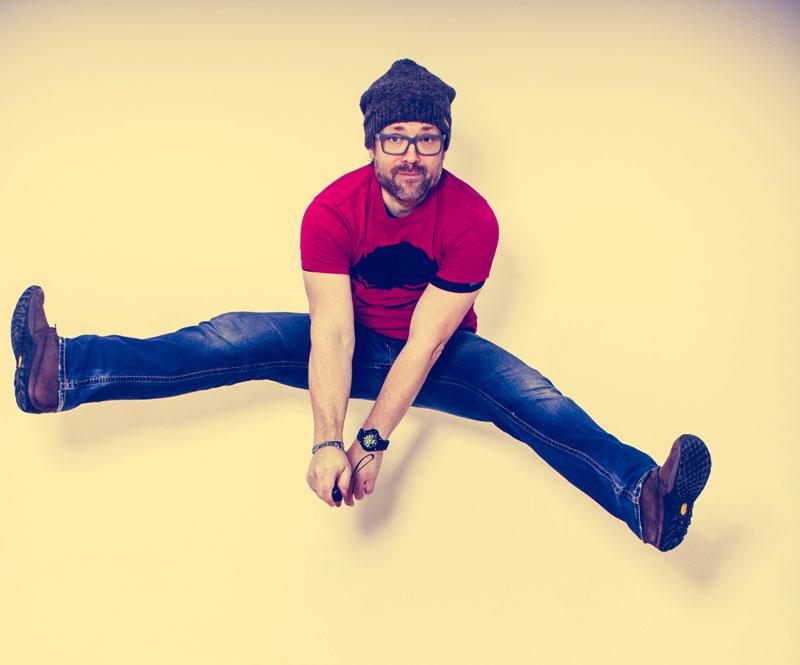 Martin Arbeithuber springt